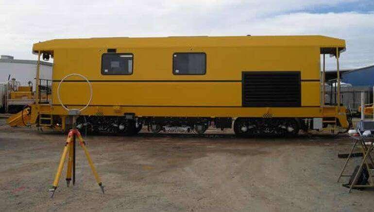 Railway and locomotive EMC testing EN 50121